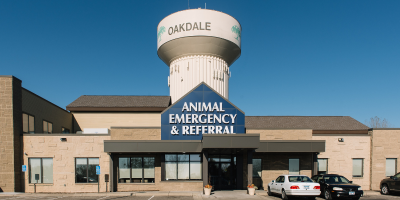exterior building, Oakdale facility, pet toxins, pet poisons, poison prevention month, pet-proof your home, pet health, pet safety, veterinary emergency, pet emergency, Animal Emergency & Referral Center of Minnesota